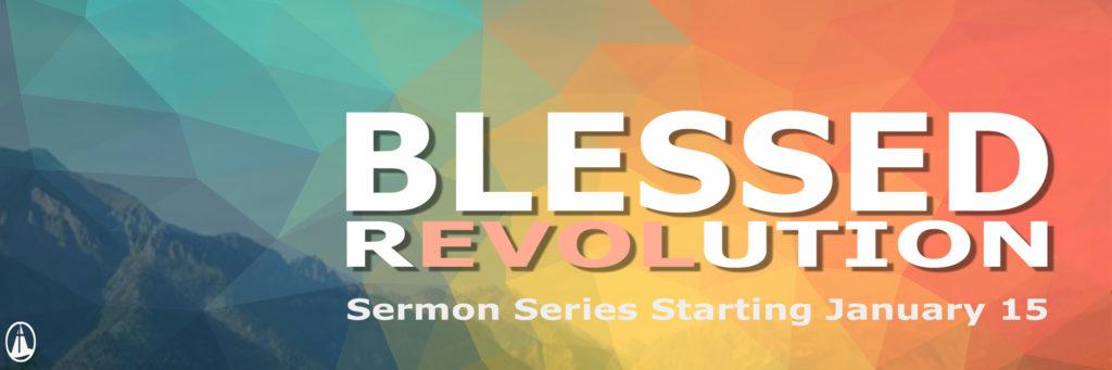 blessed revolution banner