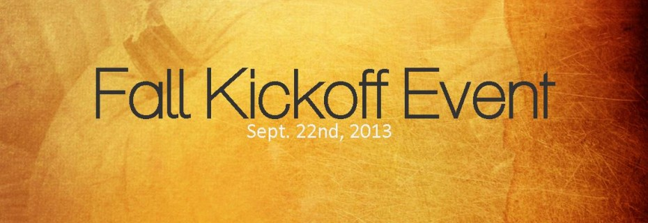 fall kickoff 2013