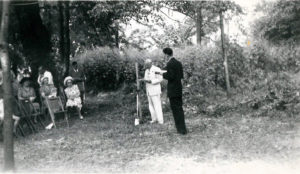 1947 Chapel Groundbreaking Ceremony